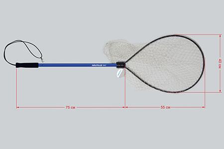 Подсак Nautilus NLN085540 55*40 75cm 17-97168118